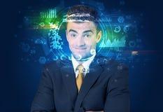 Identification biométrique et reconnaissance faciale photos libres de droits
