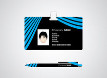 Identification card Royalty Free Stock Photo