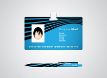 Identification card Stock Image