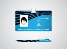 Identification card Stock Image