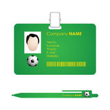 Identification card Stock Images