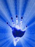 Identificazione della mano royalty illustrazione gratis