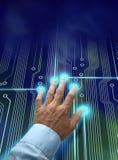 Identificazione elettronica Immagine Stock