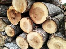 Identifiez-vous en bois une pile photos libres de droits