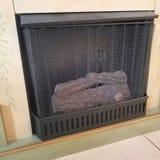 Identifiez-vous la cheminée photos stock