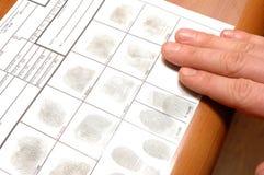 Identifikation-Karte Stockbilder