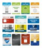 Identifikation-Karten Lizenzfreie Stockfotos