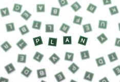 Identifique un plan empresarial fotos de archivo libres de regalías