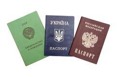 Identifying documents Stock Photo