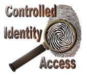 Identità controllata Fotografie Stock Libere da Diritti