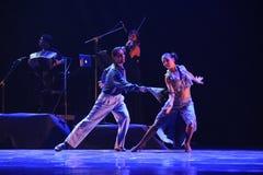 Identità di inseguimento- del dramma di ballo di mistero-tango Fotografia Stock Libera da Diritti