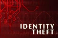 Identitäts-Diebstahl Stockfotos