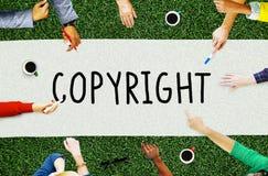 Identitäts-Inhaber-Rechtsauffassung Copyright-eingetragenen Warenzeichens Lizenzfreie Stockfotos