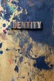 Identité images stock