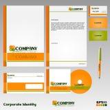 Identité de corporation Image stock