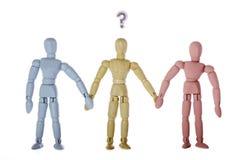 Identité sexuelle, sexualité, et genre en tant que stéréotypes sociaux Photos libres de droits