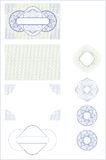 Identiteitskaart-vorm Stock Afbeelding