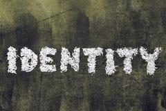 identitet royaltyfria foton