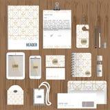Identitet för idérik färgrik våg för vektor företags Royaltyfria Foton