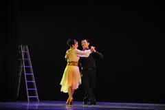 identiteten av dentango dansdramat Royaltyfria Foton