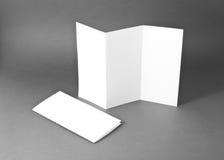 Identitetsdesign, företags mallar, företagsstil, tom vit Fotografering för Bildbyråer