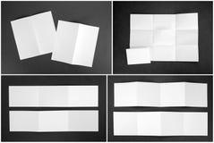 Identitetsdesign, företags mallar, företagsstil, uppsättning av boken Arkivfoton