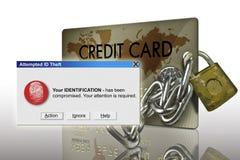 Identitäts-Diebstahl Lizenzfreie Stockbilder