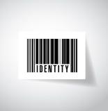 Identity barcode ups code illustration design Royalty Free Stock Image