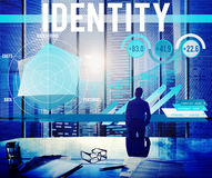 Identity Branding Trademark Marketing Product Concept.  royalty free stock photos
