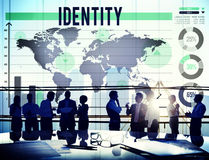 Identity Copyright Branding Product Marketing Concept Stock Photo