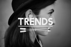 Identity Creative Lifestyle Trends Brand Concept Royalty Free Stock Photos