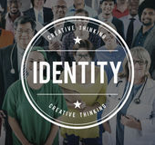 Identity ID Character Individuality Concept. Identity ID Character Individuality People Royalty Free Stock Photos
