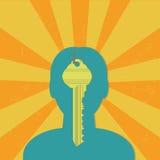 Identity key Stock Images