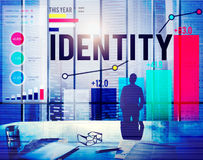 Identity Name Individuality Trademark Brand Concept Stock Image