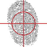 Identity target Royalty Free Stock Images