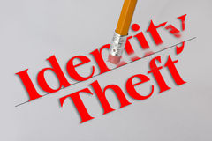 Identity theft concept Royalty Free Stock Photos