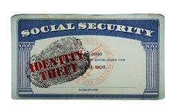 Identity Theft concept Royalty Free Stock Photo
