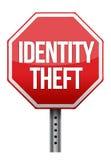 Identity theft sign illustration design Stock Photo