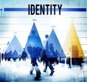 Identity Unique Branding Copyright Brand Concept Stock Image