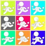 Identyfikowania Zajęć Kolorów Obrazek   Fotografia Royalty Free