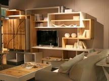 Idées de décoration de salle de séjour Photographie stock libre de droits