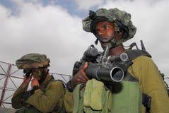 IDF -以色列步兵军团 免版税库存图片