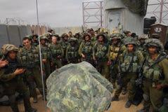 IDF -以色列步兵军团 库存照片