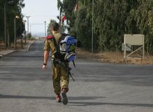 IDF dei paracadutisti Immagine Stock