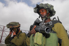 IDF - Israel infantry corps Royalty Free Stock Images
