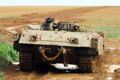 IDF Ready for Ground Incursion in Gaza Strip Stock Image