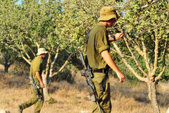 IDF Special Forces - Sayeret Matkal Stock Image