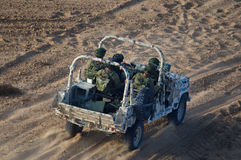 IDF Special Forces - Sayeret Matkal Royalty Free Stock Photo