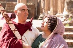 Idi di Marzo, Rom, Italien stockbild