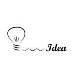 Idéia Foto de Stock